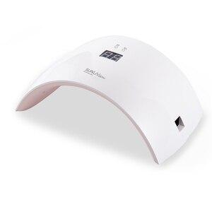 Светодиодная лампа для ногтей SUN9X Plus, 36 Вт, ультрафиолетовая лампа для маникюра SUNUV SUN9X 24 Вт, профессиональная Сушилка для ногтей, УФ-гель для ...