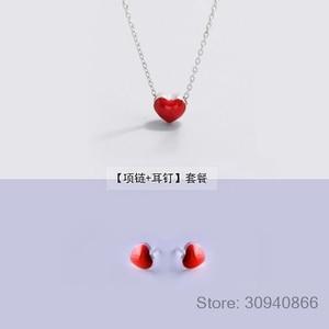925 silver Earrings + necklace