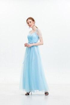 Maxi Dress Bridesmaid Dresses 2019 New Style Women Wedding Party Prom Back of Bandage  Sexy Vestidos Mujer