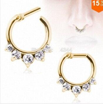 1 Pcs Nose Ring Body...