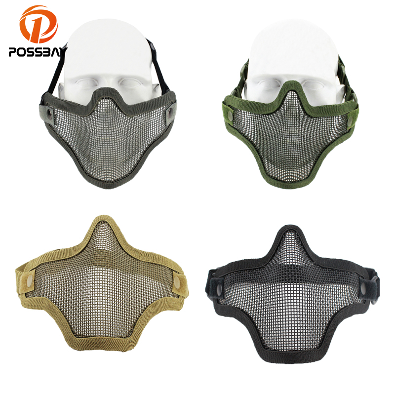 Collection Here High Quality Hunting Tactical Paintball Goggles Eyewear Steel Wire Mesh Airsoft Net Glasses Shock Resistance Eye Game Protector Attractive And Durable Camping & Hiking Back To Search Resultssports & Entertainment