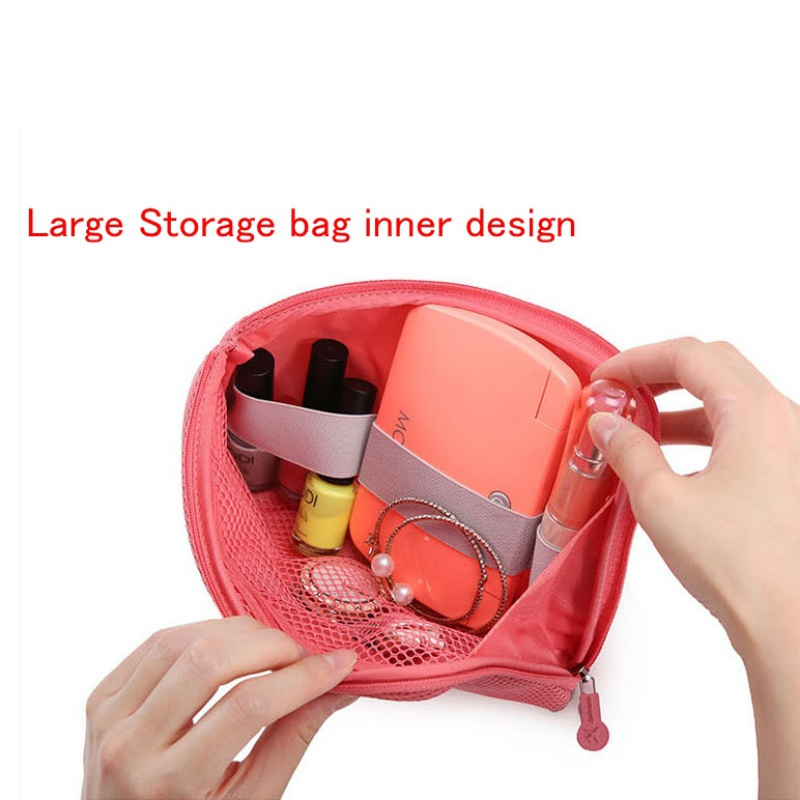 Organizer System Kit Case Portable Storage Bag Digital Gadget Devices USB Cable Earphone Pen Travel Cosmetic Insert