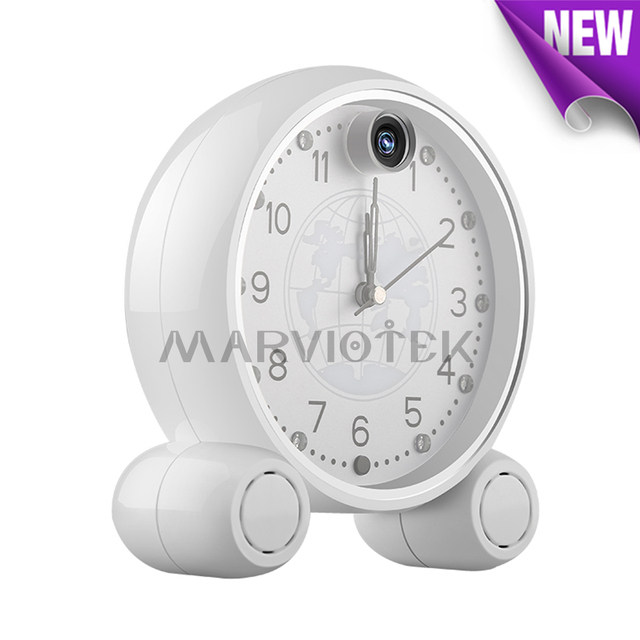 960P Cloud Storage HD Wireless IP Camera wifi Clock home security video surveillance mini camera wi-fi baby monitor