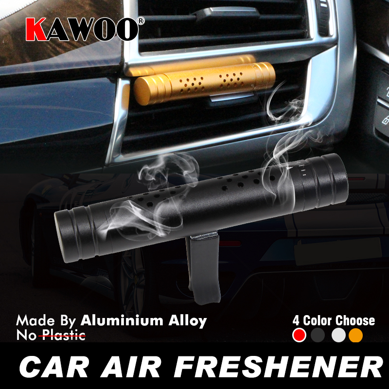 KAWOO Auto Car AC Vent Outlet Air Freshener For Lada Kalina Priora Granta Vesta Xray Niva Diffuser Solid Fragrance Accessories