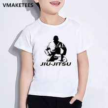 Kids Summer Short Sleeve Girls & Boys T shirt Children Jiu Jitsu Print T-shirt Comfortable Funny Casual Baby Clothes,HKP338(China)