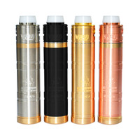 HOT sale Masterpiece MOD Kit With Warhead RDA Replaceable Driping Atomizers Diameter 30MM Colorful VAPE Vaporizer E cigs