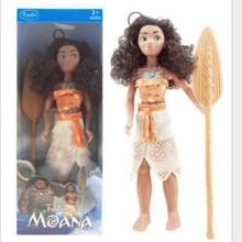 Vaiana boneca moana cosplay princess adventure models toys cartoon movie maui moana doll anime figures toys