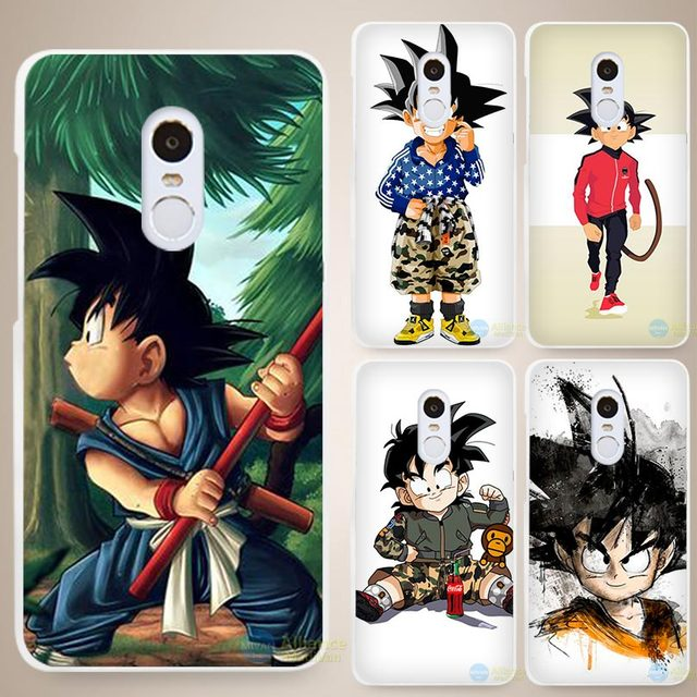 Dragon Ball Z Hard White Cell Phone Case for Xiaomi