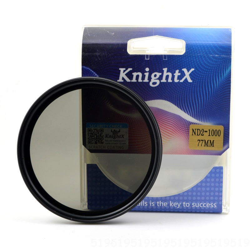 KnightX ND2 to ND1000 ND400 ND2-400 ND2-ND400 Variable Density ND Camera Lens Filter For canon nikon 49 52mm 55mm 58mm 67mm 77mmKnightX ND2 to ND1000 ND400 ND2-400 ND2-ND400 Variable Density ND Camera Lens Filter For canon nikon 49 52mm 55mm 58mm 67mm 77mm