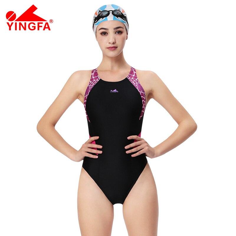 Yingfa One Parça Professional qız yarışları mayo uşaqlar - İdman geyimləri və aksesuarları - Fotoqrafiya 1
