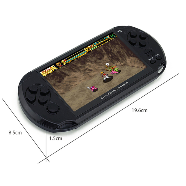 Pocket Retro Game Console 5″