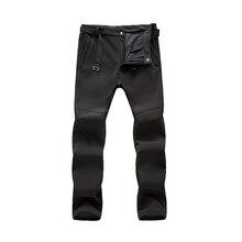 Befusy мужские теплые осенне-зимние софтшельные штаны для туризма водонепроницаемые ветрозащитные уличные брюки спортивные походные отслеживание рыбы во время рыбалки брюки