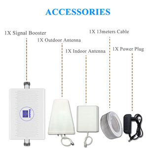 Image 5 - Lintratek NEW 70dB 3G 4G Cellular Signal Booster LTE 1800mhz UMTS 2100mhz AGC/ALC Dual Band Signal Repeater B3+B1 3G Amplifier .