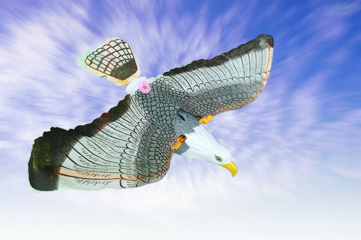 Electric eagle toy, hovering crane flying eagle,360 flying with ...