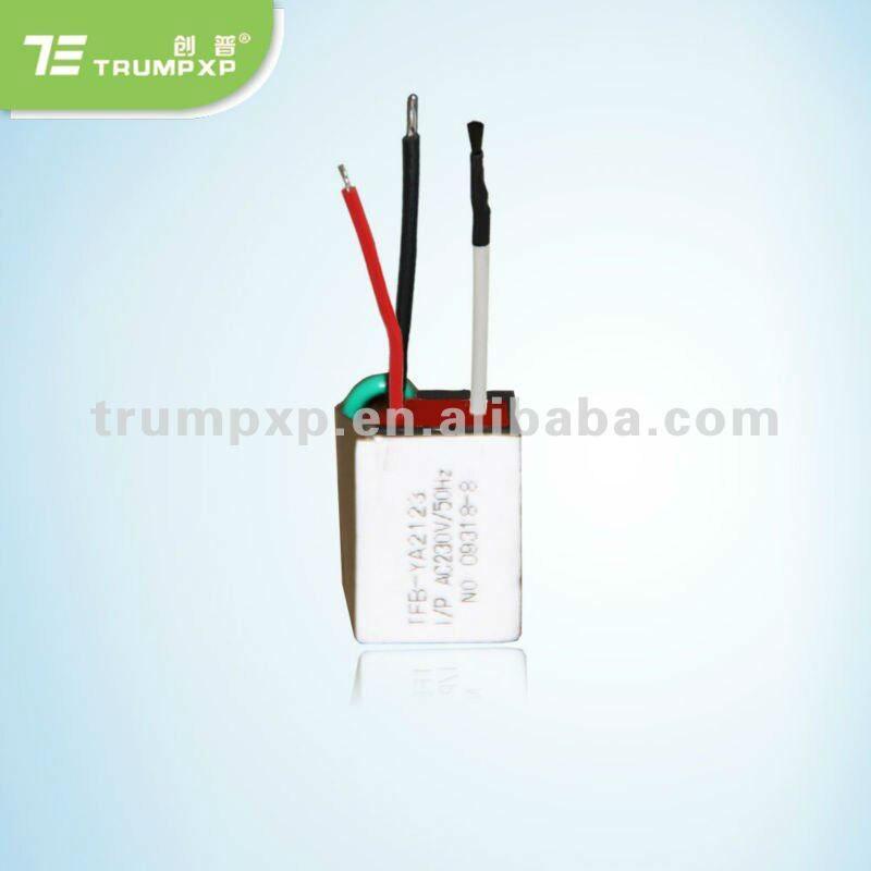 1 шт. TRUMPXP tfb-y74 AC220V генератор отрицательных ионов (части и Accossory) для волос феном Выпрямитель волос энергосберегающие лампы