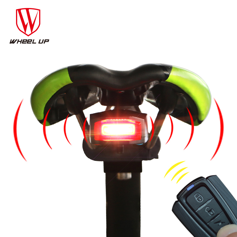<font><b>WHEEL</b></font> UP Bicycle Wireless Anti-theft Remote Control Bike Lights Waterproof Bicycle Taillights MTB Road <font><b>Lamp</b></font> Cycling Accessories
