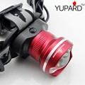 YUPARD  NEW Design HeadLight CREE XML XM-L2 LED 3 Mode Waterproof Zoom Focus Front Light LED HeadLamp  T6 LED camping fishing