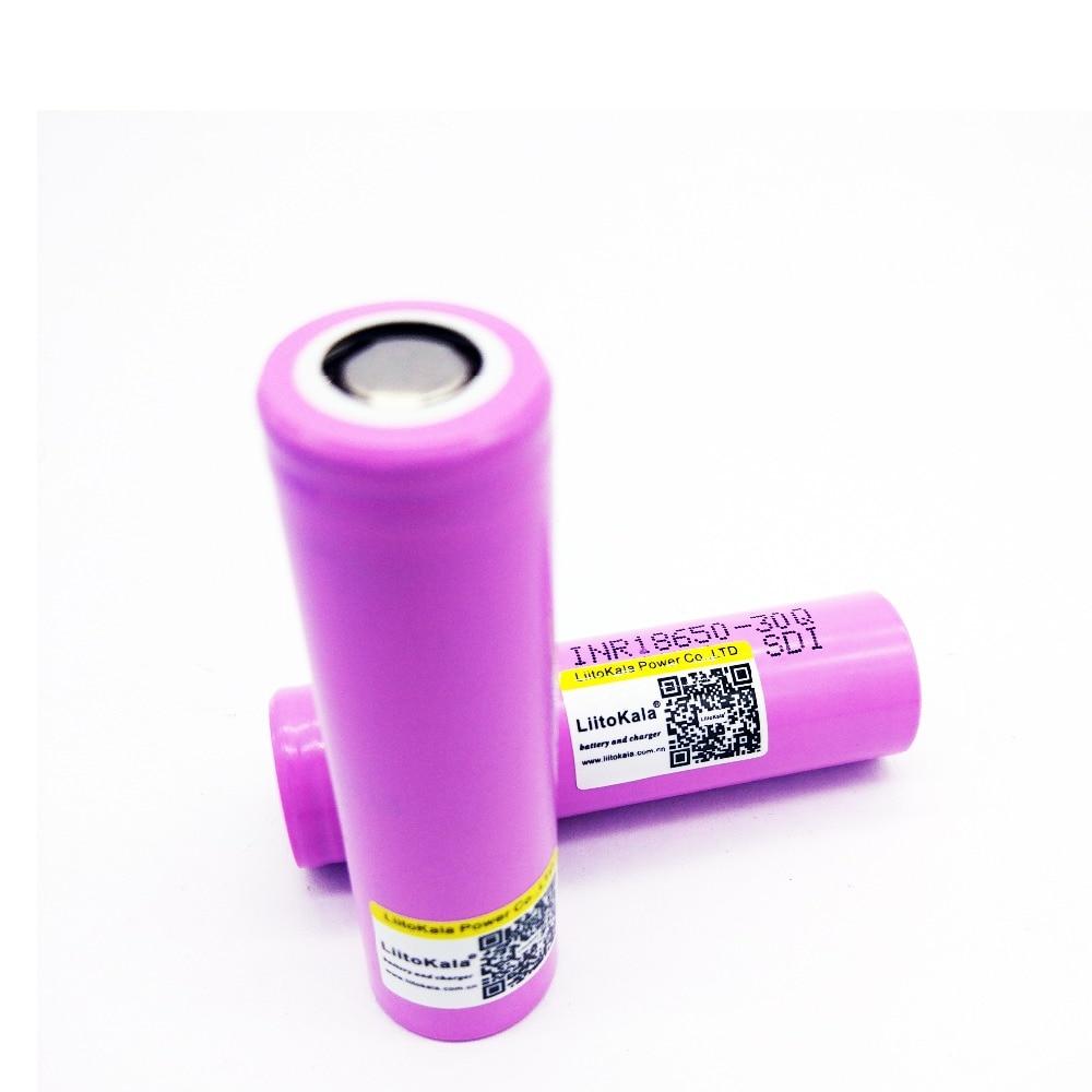 Baterias Recarregáveis inr18650 bateria Capacidade Nominal : 3001-3500 MAH