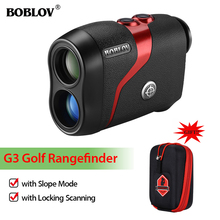 BOBLOV Telescope Laser Rangefinder for Hunting Golf 600m Distance Meter with Slope Flag-Lock and Distance/Speed/Angle