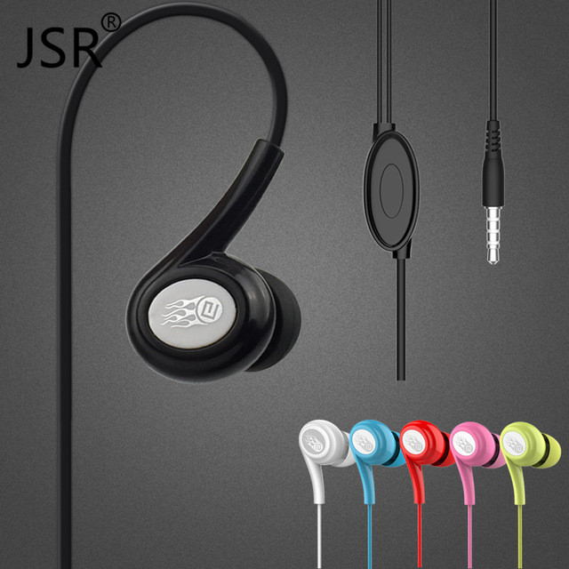 Brand Langsdom JD91 Noice Canceling Earphone 5 Colors Bass Headset with Microphone for IOS PC Mobile