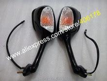 Hot Sales,Turn Signal Light Rear Mirror For Suzuki GSXR 600 750 K6 K8 2006-2010 / GSXR1000 K5 K7 2005-2008 Rearview Side Mirror