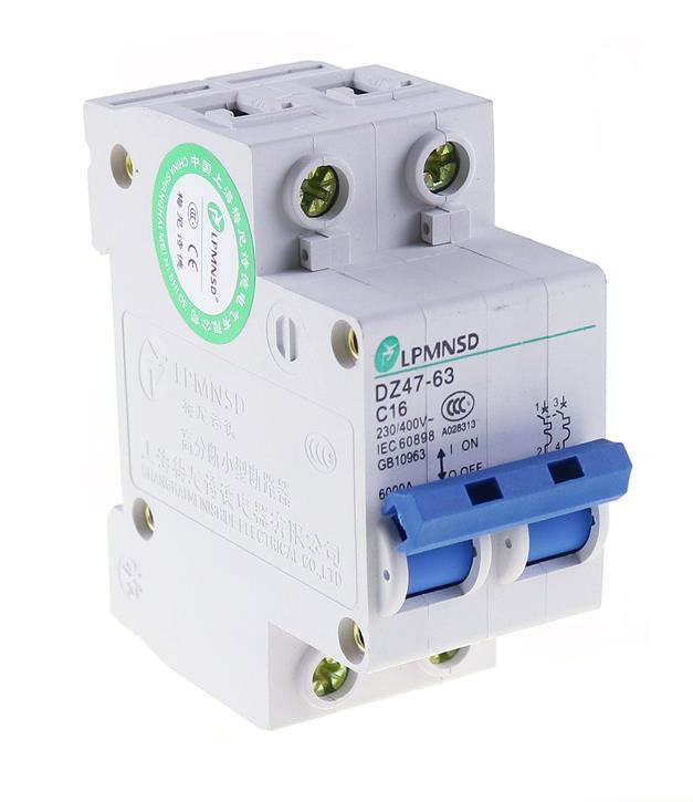 C Curve Chint NBH8-40-C40 Miniature Circuit Breaker 40 A 1P+N