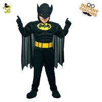 Muscolo Batman Costumi Per Bambini Ragazzi Personaggio del Film Coraggioso Supereroe Imitazione Del Partito di Travestimento Freddo Superman Gioco di Ruolo Vestito Operato