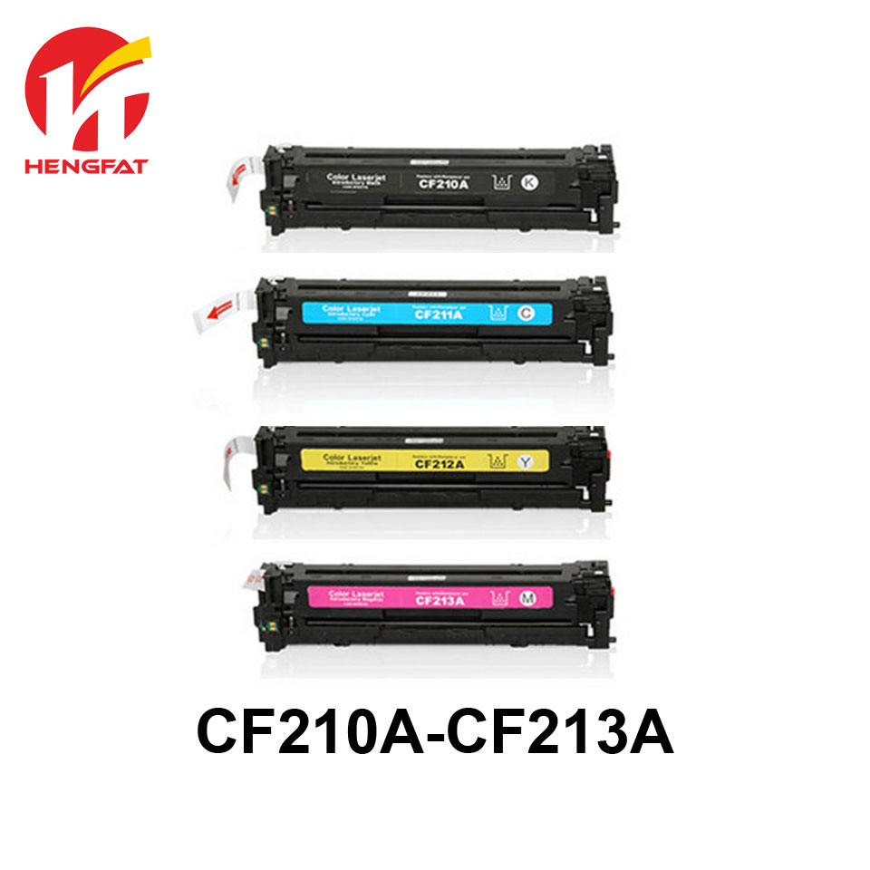4PCS/SET  Color laser Compatibler toner cartridge for CF210A CF211A CF212A CF213A CF210 CF211 CF212 CF213 футболка мужская dedicated palm trees logo цвет белый розовый оранжевый 14520 размер xl 50