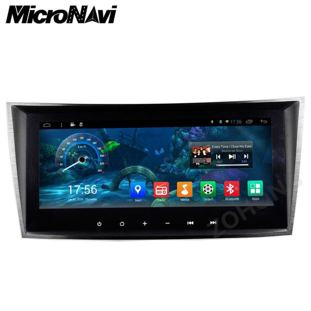 9 inch android car dvd player for mercedes benz e class. Black Bedroom Furniture Sets. Home Design Ideas