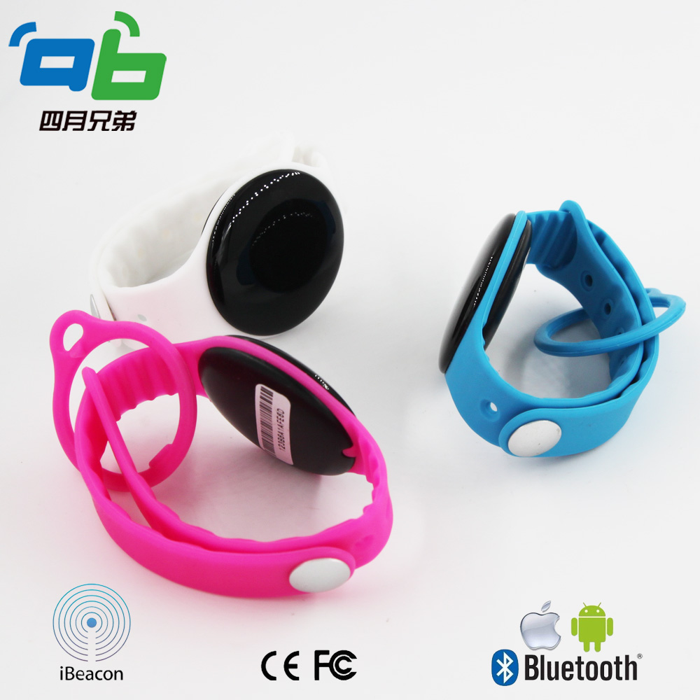Wristband Ibeacon Low Energy  Bluetooth Module For Registration