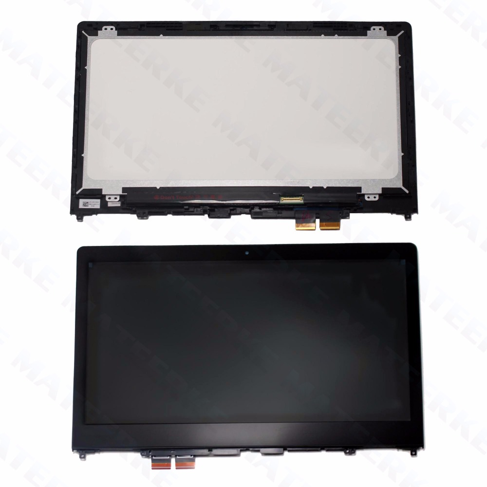 For Lenovo Yoga 510 14 Yoga 510-14 Yoga 510-14ISK LCD Touch Screen Display Assembly with Frame 1920*1080 цена