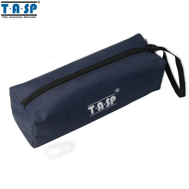 TASP Hand Tool Bag Oxford Cloth 600D Navy Blue Storage Bag 250x75x70mm boodun bd b03 bicycle bike oxford cloth saddle bag blue