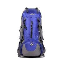 Waterproof Nylon Backpack Men Women Travel Hiking Backpacks Outdoor Backpack Travel Climbing 50L Backpack Rucksack Men Outdoor