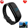 Update IP68 Swim Dive Smart Wristband Heart Rate Monitor Health Fitness Yoga/Golf PK For IOS/android/Xiaomi mi band 2 Not