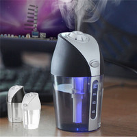 250ml Ultrasonic Multifunctional Mini USB Air Humidifier Purifier Aroma Diffuser Atomizer For Car Home Office DC