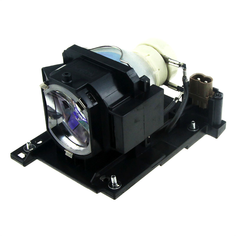 ФОТО DT01022 Projector Replacement Lamp with Body for Hitachi CP-RX80W / CP-RX78 / ED-X24 / CP-RX78W / CP-RX80 / ED-X24Z