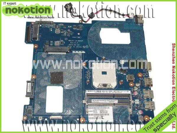 LA-8864P laptop motherboard for Samsung NP365 NP365E5C AMD SOCKET FS1 integrated DDR3