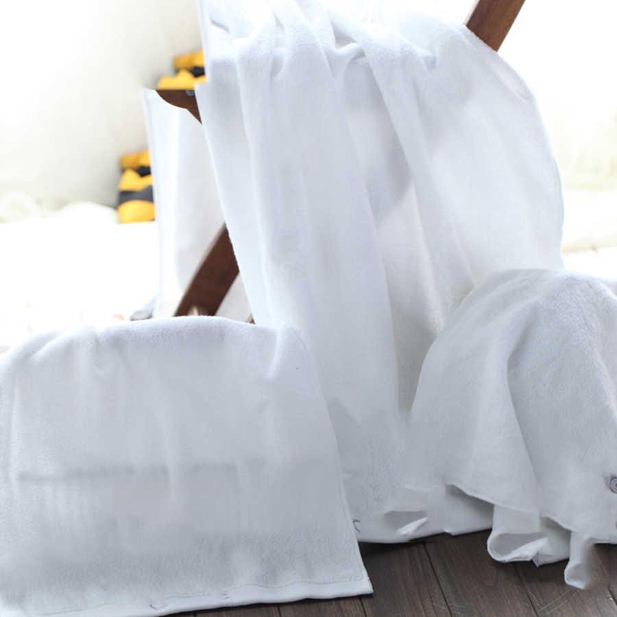 Blanc sûr douche adultes doux coton serviette de bain cadeaux ensembles Couple serviettes de bain Wody hôtel serviettes décoration produit 50C6061
