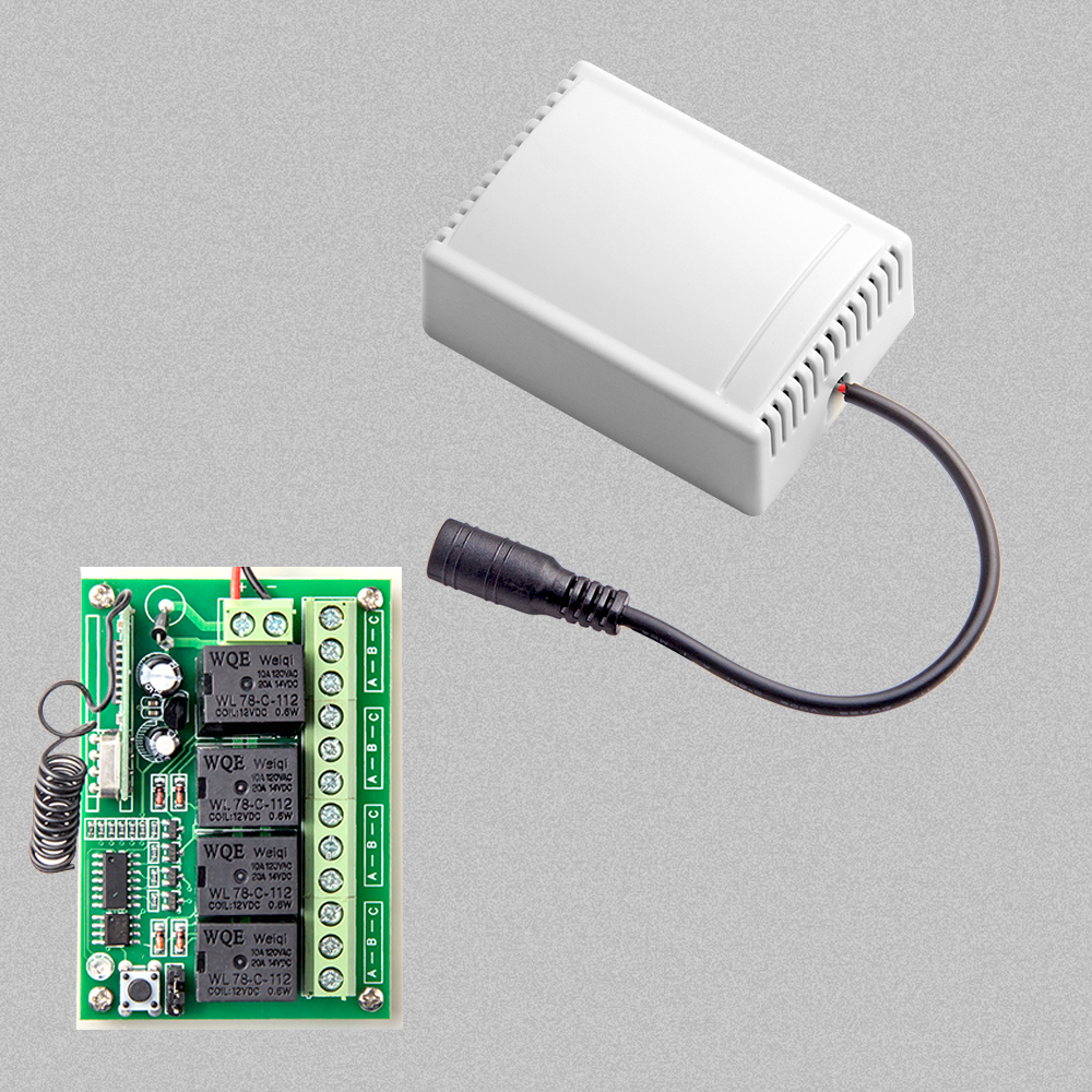 smart home 4CH relay output for control small home appliances for G90B wifi alarm house