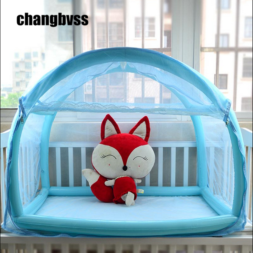 Yurt Aerated Baby Mosquito Net,With Stand Folding Crib,Folding Crib,Newborn Baby Mosquito Netting,Tenda Infantil,Portable Crib baby bed curtain kamimi children room decoration crib netting baby tent cotton hung dome baby mosquito net photography props