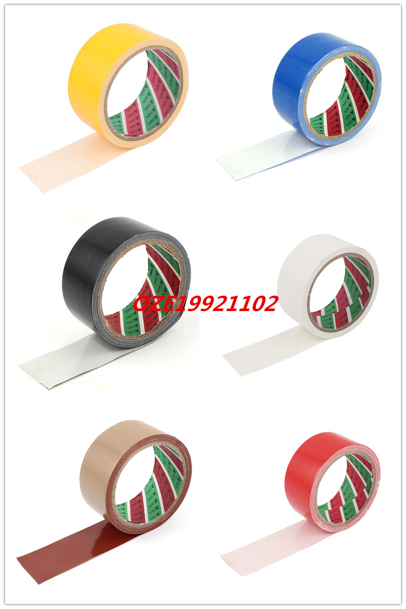 1PCS Adhesive Cloth Fabric Stick Tape 43mm for Sealing Packing simple fashion moistureproof sealing thick oxford fabric cloth wardrobe rustproof steel pipe closet 133d