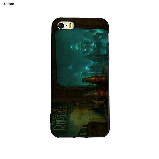 skeros bioshock rapture custom fashion phone soft cover for apple