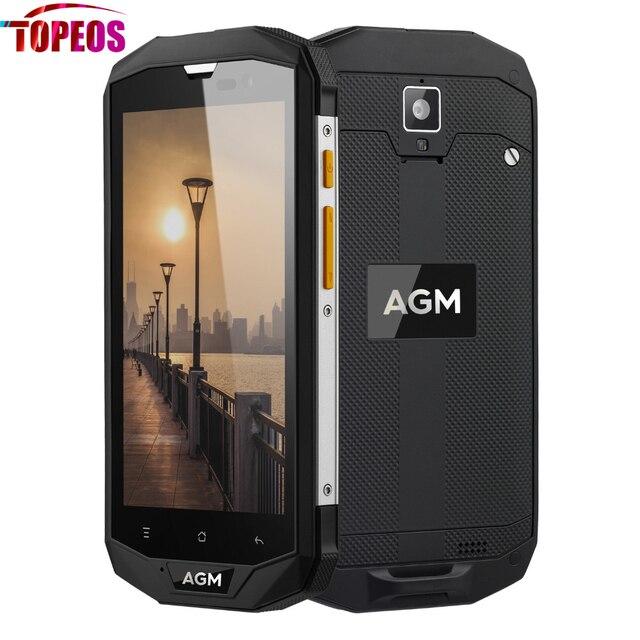 Original Waterproof AGM A8 5.0 Inch Smartphone Qualcomm MSM8916 Quad Core 3GB RAM 32GB ROM 4G LTE 13MP 720P 4050mAh IP68 Phone