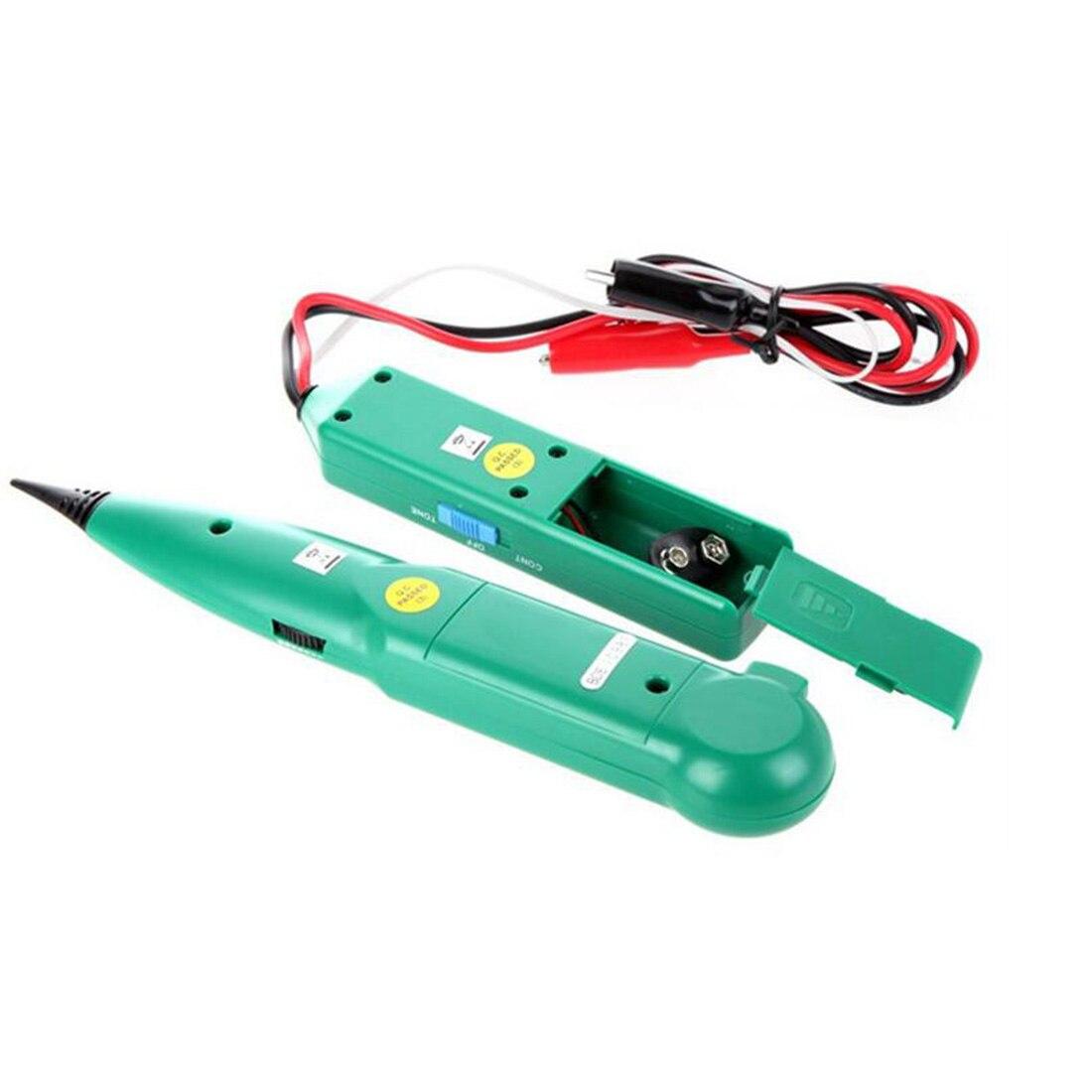 Топ 1 шт. (9 В) телефон проводной сети Кабельного Тестера Линии Tracker для MASTECH MS6812 (MS6812-T и MS6812-R) оптовая продажа