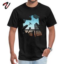 2019 Newest Mens Tshirts Men T-shirt O-Neck Print Demand Heavy Metal Cotton Parkour Tops T Shirt Comics Free Shipping