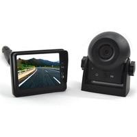 Vardsafe VS609 | Wireless Magnetic Battery Powered Portable Car Rear View Reverse Backup Camera Kit
