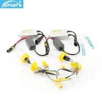 RONAN 55w Fast bright Xenon HID Bulb KIT H1 H3 H4 H7 H11 9005 9006 881 D2S 12V Lamp 6000K H7 xenon ballast car styling