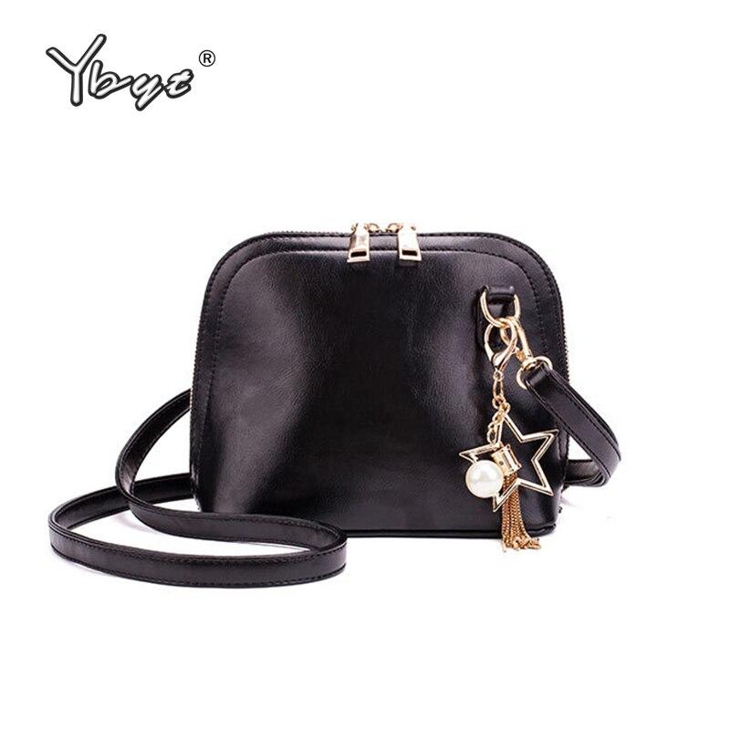 YBYT Brand 2019 New Women Shoulder Messenger Crossbody Bags Fashion Bolso Mujer Joker Leisure Evening Bag Simple Shopping Pack