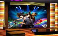 3D 벽지/사용자 정의 사진 벽 종이/아름다움 그릴 댄스 배경/TV/소파/침실/KTV/호텔/거실/어린이