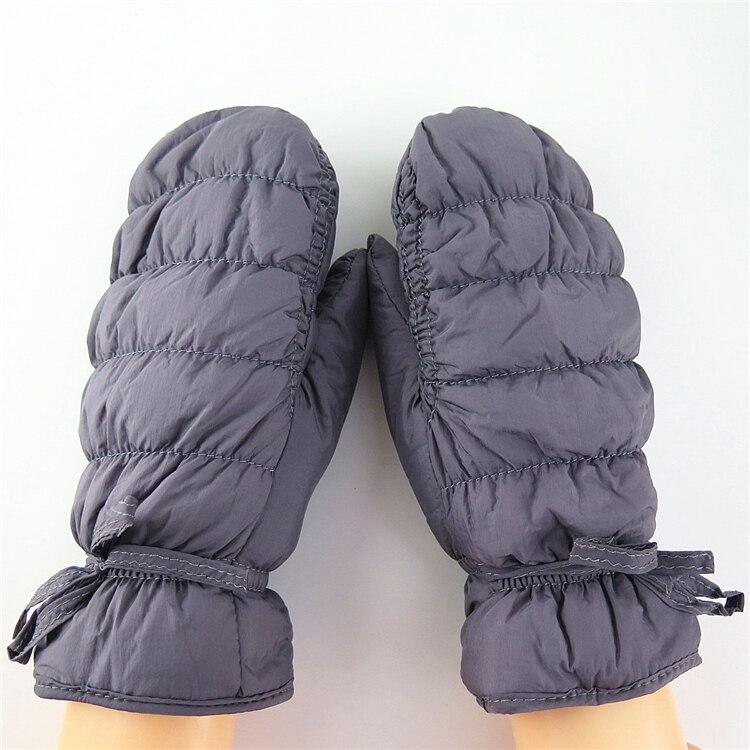 Skiing gloves lovely women bear claw paw mitten plush gloves long finger full gloves ladies all vinyl female Velvet
